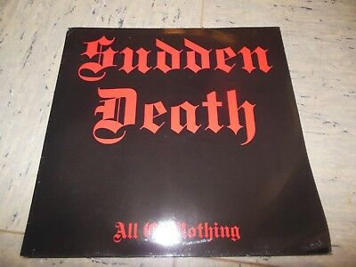 Sudden Death-All or Nothing LP-1987 Germany-Heavy Metal-Album-MPB