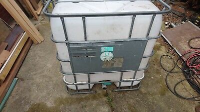 Shutz 1000 Litre Cubic Meter Water Tank Butt Food Storage Used Bulk Container