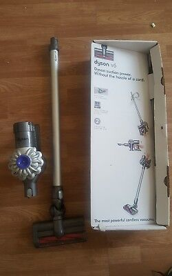 Dyson V6 Cord-Free Cordless Vacuum Cleaner  great hoover used cordless complete