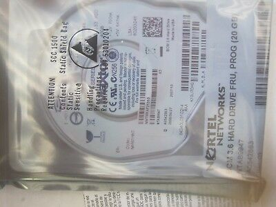 NORTEL NTAB9947 BCM 3.6 Hard drive programmed 20GB NEW sealed see all pictures