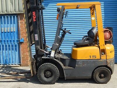 TCM L.P.G. (GAS) Fork Lift Truck,  1047hrs from new