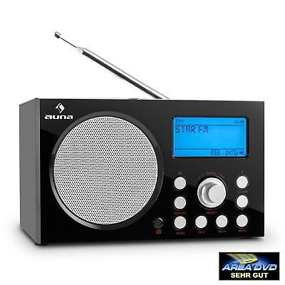 [B-Ware] Internet Radio W-Lan Usb Dab+ Ukw Rds Fm Tuner Mp3 Media Player Wifi We