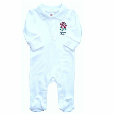 England Rugby Babygrow Official Product Sleepsuit Baby All In One Baby Kit