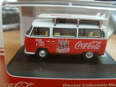 Volkwagen T1 Bay Window Bus Coca Cola - Scala HO 1:76 - Oxford - Nuova