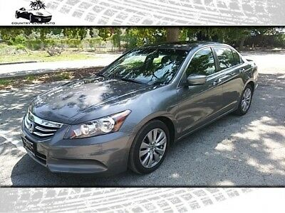 Accord EX-L Sedan AT 2012 Honda Accord EX-L Sedan AT 73,200 Miles Gray  2.4L L4 DOHC 16V Automatic