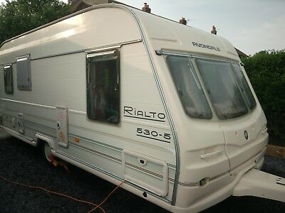AVONDALE RIALTO 530-5, Year 2001,  5 berth caravan, with Awning - CRIS reg