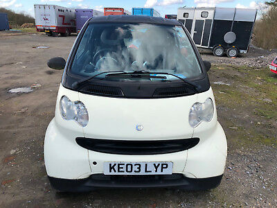 2003 Smart Pure Softip 50 S-A - Spares Or Repair