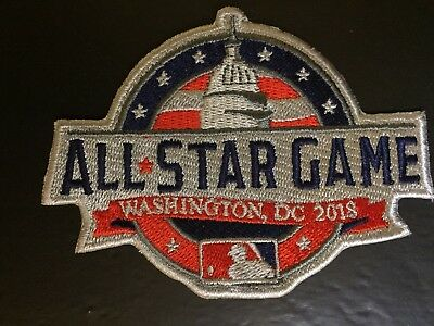 43d8208d93d 2018 All Star Game Patch Mlb Baseball Washington Dc July 17Th Jersey Style  4