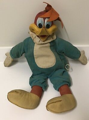 1963 Vintage Mattel Woody Woodpecker Doll Rare Toy Original Good Shape
