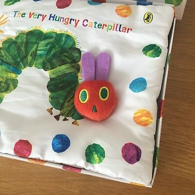 The Very Hungry Caterpillar cloth baby book -new in box Baby Gift
