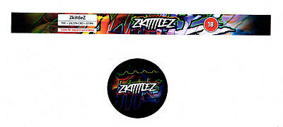 Zkittlez Cali Tin Labels Weed Stickers (24Tin & 24 Lid) 100ml *Best Quality*