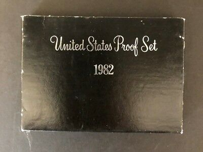 1982 S  United States Proof Set With Susan B Anthony Dollar