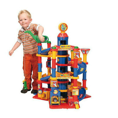 Wader Park Tower 7 Floors Garage/Cars Outdoor/Indoor Play/Game Creative Toys Set