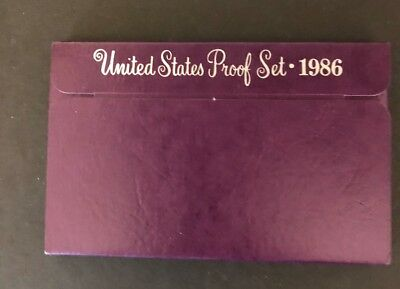 1986 S  United States Proof Set