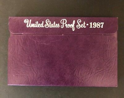 1987 S  United States Proof Set