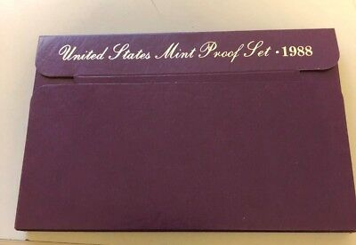 1988 S  United States Proof Set