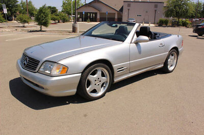 Mercedes-Benz SL-Class SL500 2dr Roadster 5.0L 1999 Mercedes Benz SL500 AMG Sport 1 Owner 45000 Original Miles