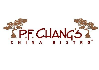 $100 PF Chang's Discount Paper Gift Card - Mail Delivery 50% OFF!