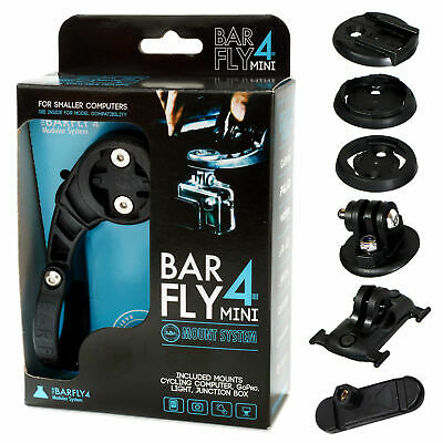 Tate Labs Bar Fly 4 Road Mini Modular Mount System for GPS / Computer / Lights