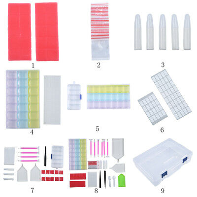 88 Pcs Diamond Painting Tools Kits 5D Diamond Embroidery Painting Accessories AU