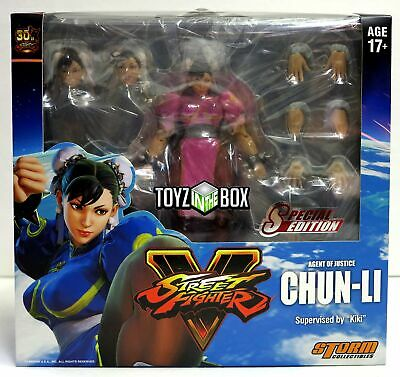 Storm Collectibles Street Fighter V Chun-Li Special Edition 1:12 Action Figure