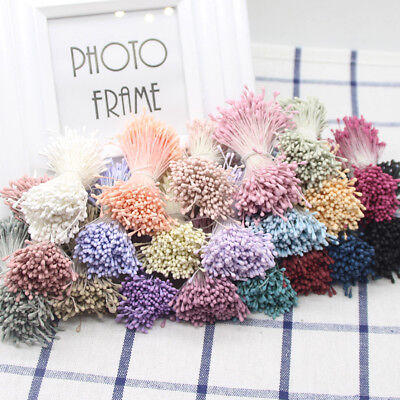 400pcs/Lot Decor Flower Stamens Pistil Wedding Decoration Craft Gift 15 Colors