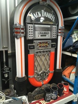 Jack Daniels juke box CD player radio aux input stereo