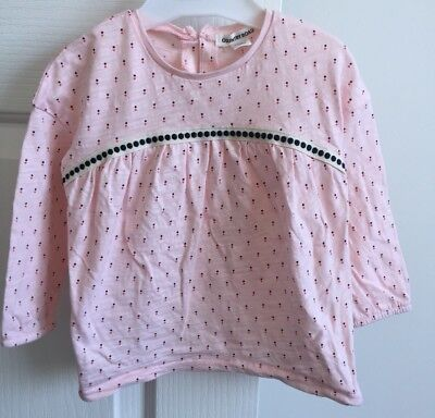 As NEW Cotton Kids COUNTRY ROAD Girls Baby Top Jumper 12-18M $54.95 *SOLD OUT*
