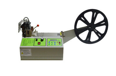 220V Belt Cutting Machine Automatic Digital Hot And Cold Tape Sheeting New