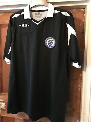 Large Umbro Referees Kit Sussex County FA
