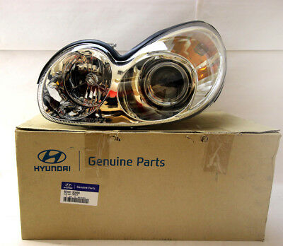 921013D090 Genuine Hyundai Sonata Left Hand Head Lamp/Light 4/01-5/05