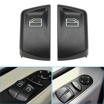1Pair Window Control Power Switch Push Button Cover For Mercedes Vito Sprinter