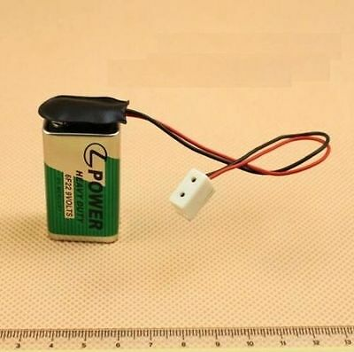 1:12 Dollhouse Miniature Lamp Use Electrical Connector Strip For 9V Battery ♫
