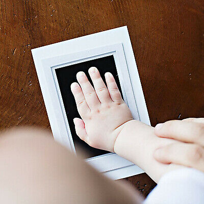 Ink Pad Wipe Baby Kit Hand Foot Print Keepsake Newborn Footprint Handprint