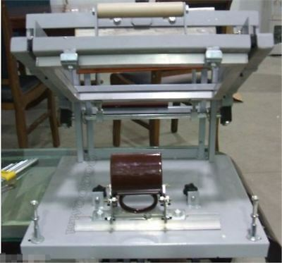 Manual Screen Cylinder Printing Machine For Bottle/Cup/Pen Surface Curve Pres cw