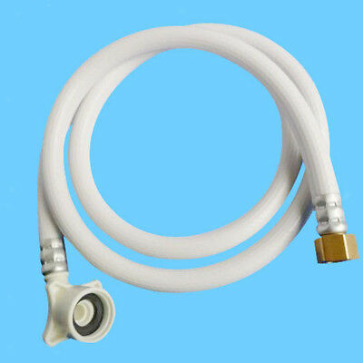"""PVC Water Pipe Washer Connector Washing Machine Inlet Hose 3/4"""" 1.5m"""