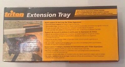 Triton Extension Tray suits Superjaws SJA200, Brand New.