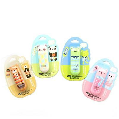 Cartoon Animal Correction Tape White Out School Office Stationery Geschenk^!