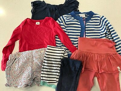 Bonds, Eeni Meeni, Jojo Maman GIRL clothes bundle inc skegging, top, dress. Sz 1