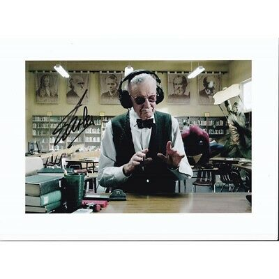 Stan Lee Hand Signed Autograph The Amazing Spider-Man (2012) 8x10 Photo
