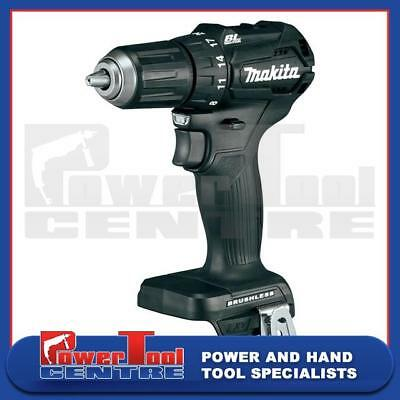 Makita DHP483 Black Brushless 18V Li-Ion Cordless Combi Drill Driver Body Only