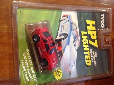 Slot Car Fire Chief TYCO HP7 lighted racing car.