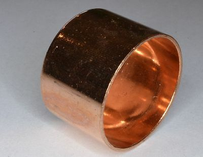 COPPER END FEED END CAPS STOP END 8mm-108mm PIPE FITTINGS/PLUMBING/COPPER PIPE *