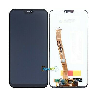 Ricambio Display Lcd Touch Schermo Display Nero Per Huawei P20 Lite