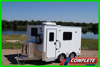 8.5 X 12 ATC Aluminum Enclosed Command Center Office Trailer