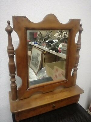 mirror psyche mirror table nut half 800 authentic Luigi Filippo nut