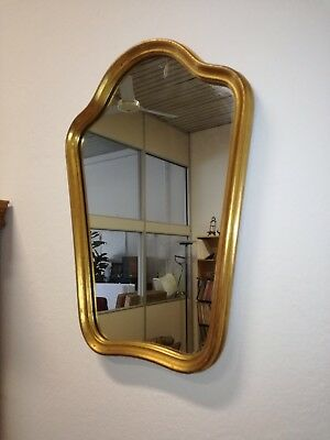 Antique mirror frame golden gold move mirror 53 x 39 cm