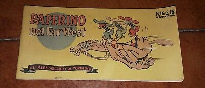 Gli Albi Tascabili Of Mickey 16 1948 Paperino Nel Far West