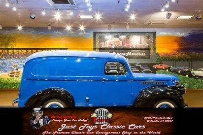 Panel Delivery Truck Chevrolet Panel Delivery Blue/Black with 213 Miles, for sale!