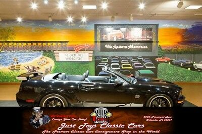 Mustang GT Deluxe Convertible Ford Mustang Black with 17,700 Miles, for sale!